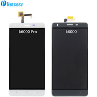 LCD Display Touch Screen Digitizer Panel Glass Lens Assembly Replacement Part For Oukitel K6000 Pro K6000Pro