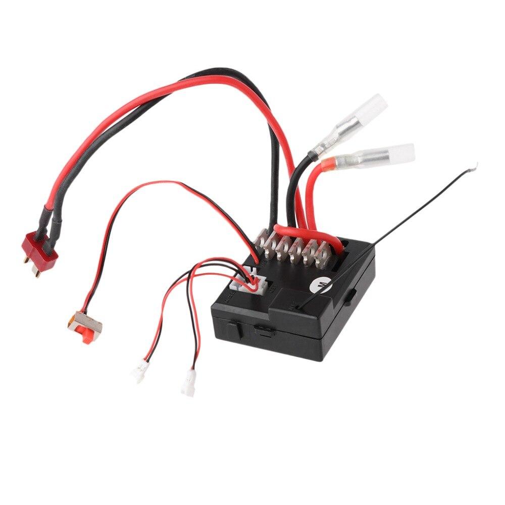 Parts Wltoys 12428 12423 1/12 RC Car Spare Parts Receiver Accessories #HC6U# Drop shipping