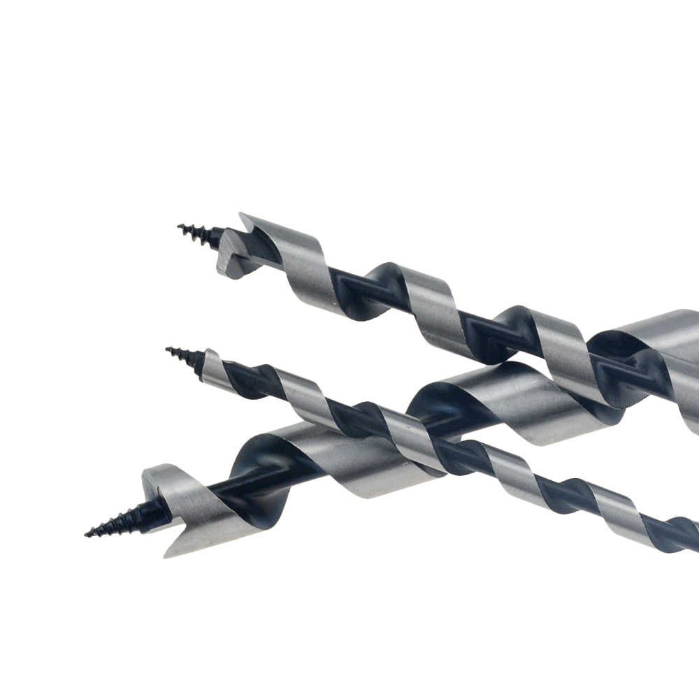 230mm 350mm ארוך 6-25mm מקדחת מקדחי עץ קרפנטר בנייה תחביב עץ מקדחות סט עבור נגרות 6/8/10/12/14/16/18mm שוק