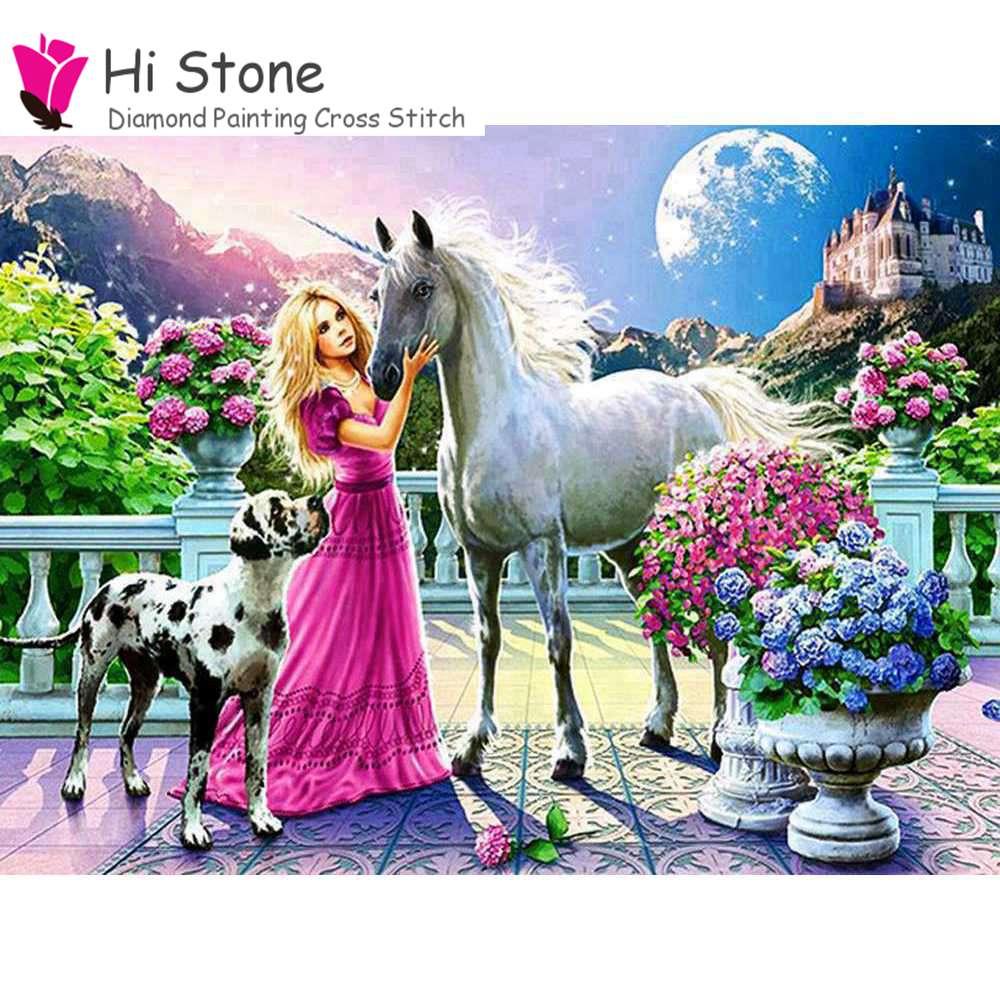 Алмаз живопись Новый Queen мультфильм Вышивка крестом 5D DIY полный квадратный рукоделие холст картина украшение дома подарки для детей