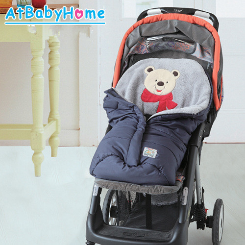 Envelope-For-Newborns-Waterproof-Baby-Sleeping-Bag-Winter-Baby-Sleepsack-For-Stroller-Cart-Blanket-Swaddle-Infant-Fleabag-2