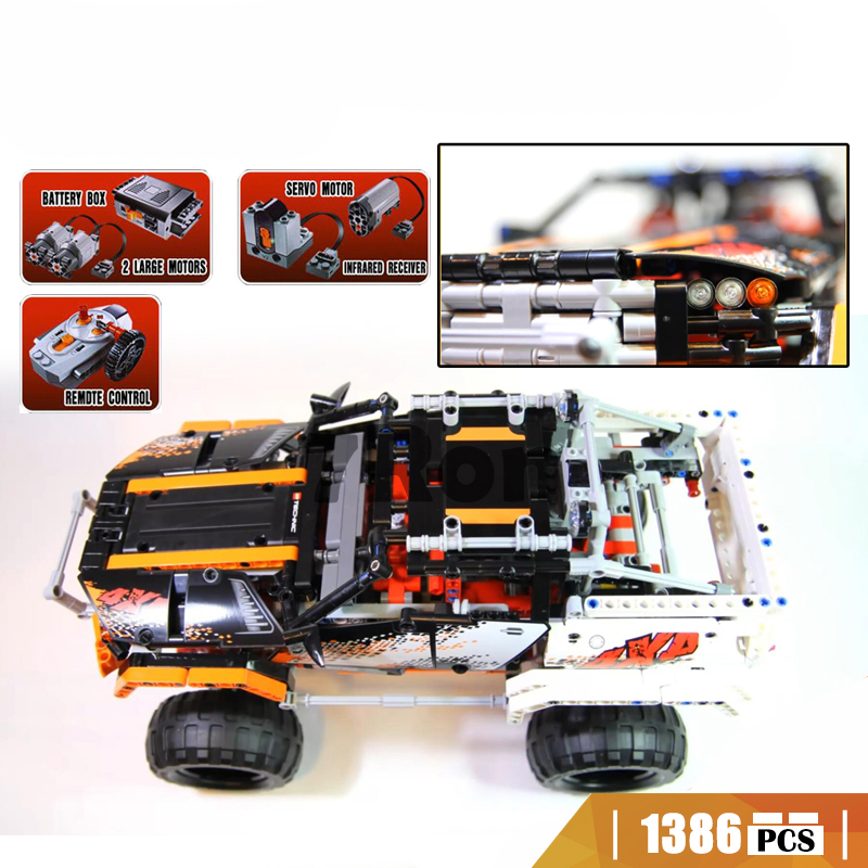 20014 Compatible with Lego blocks technic 93984X4 Crawler Vehicles Model building toys hobbies Educational bricks for children 2017 new 1ch dc 7v 9v 12v 24v wifi switch smart home module momentary selflock interruptor for home automation light garage door