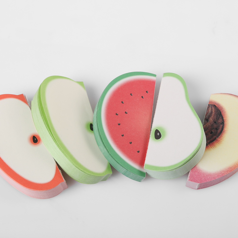Fruit Sticker Pads - Watermelon/Peach/Pear/Apple 2