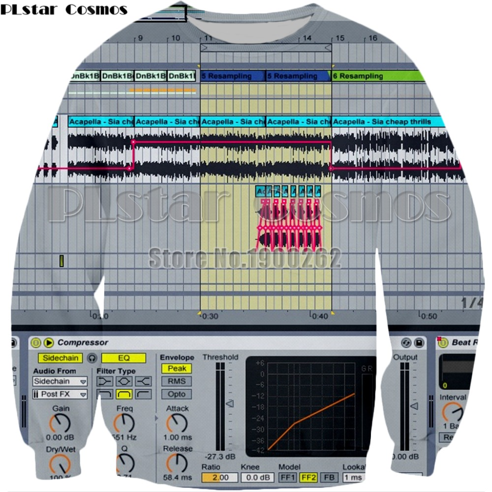 PLstar Cosmos Ableton live New style Brand Popular Sweatshirt new style fashion hoodies  ...