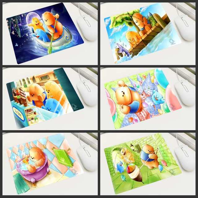 KULIAI Cute Mouse Pad Cloth Bear Cartoon Wallpaper Russia Free Shipping Game Player Laptop Tablet Office