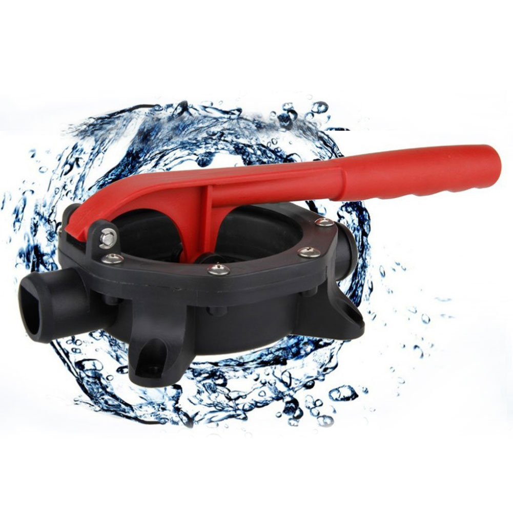 720GPH Manual Diaphragm Hand Bilge Water Self-priming Pump with Handle