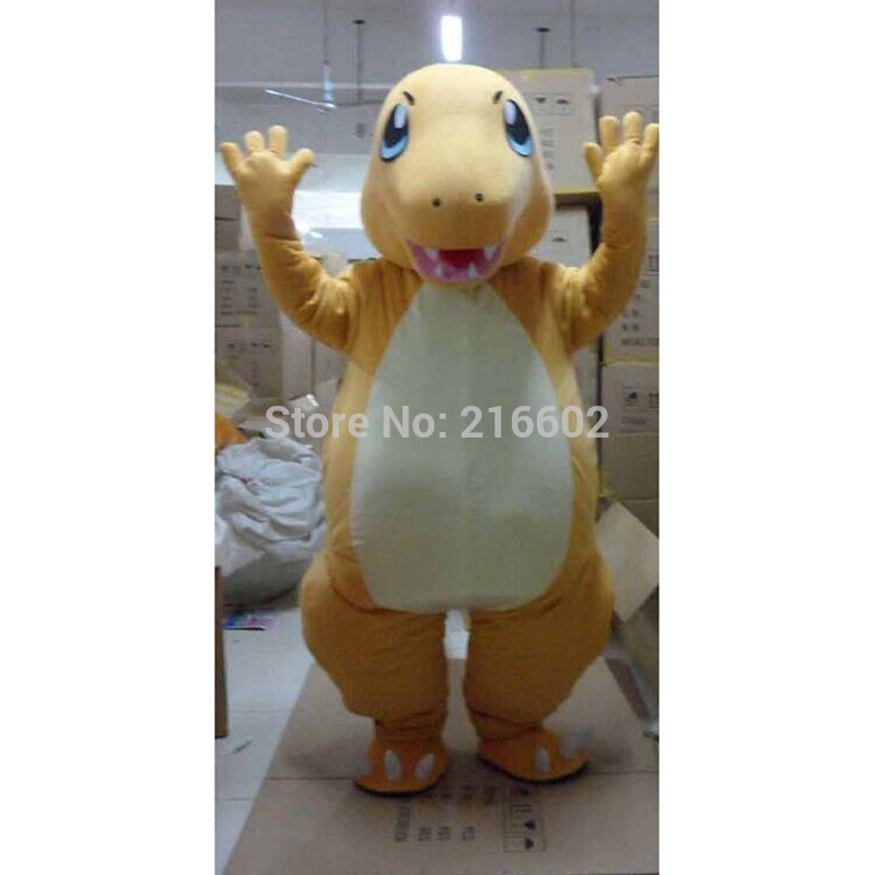 High quality Charmander Pokemon Anime Manga Japanese Video Game Mascot Costume Fancy Dress