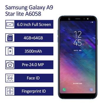 "Samsung Galaxy A9 A6058 Smartphone 6.0"" FHD Samsung Mobile Phones"