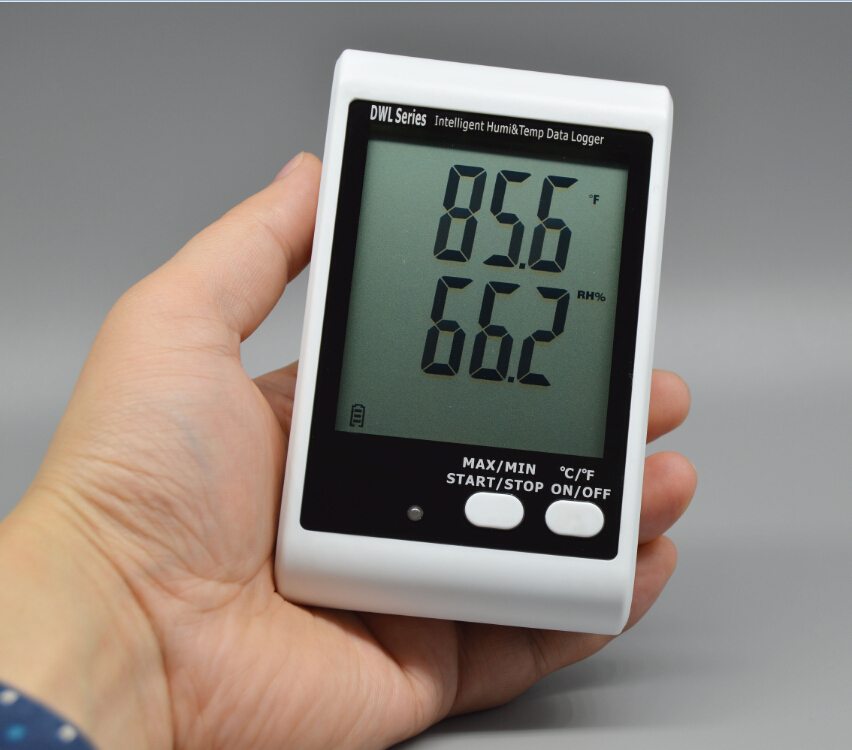 Shipping Temperature Data Loggers : Dwl series lcd display sound alarm temperature data