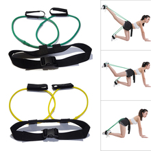 2019 Newly Women Booty Butt Band Workout Fitness Resistance Belt Tone Firm Gym Exercise 19ing
