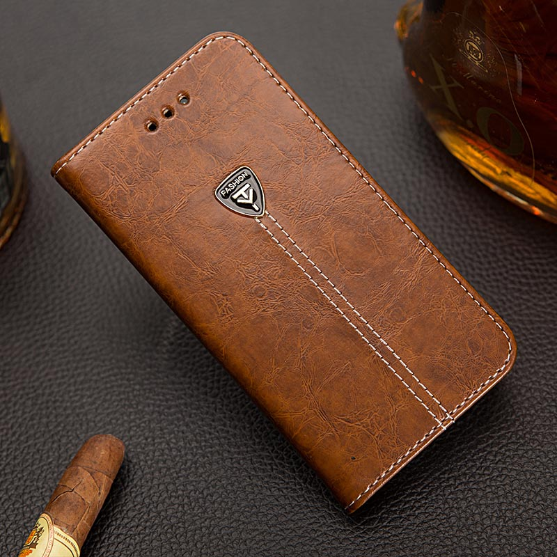 EFFLE Luxury Phone Capas Case For Sony Xperia E5 F3311 F3313 Flip Cover Wallet PU Leather Bag Skin With Stand For Sony E5 5.0''