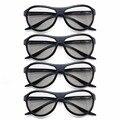 4 pcs freeship ag-f310 vidros 3d polarizados passivos óculos de substituição para lg samsung sony konka tcl 3d reald cinema moeda