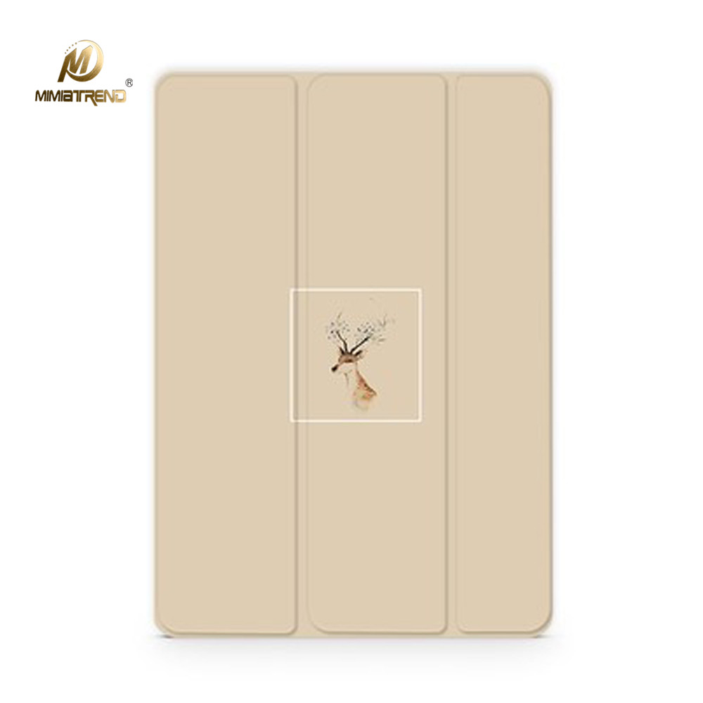 Mimiatrend Elk PU Leather Case Smart Cover For 2017 New iPad Pro 9.7 10.5 inch tablet Case Flip Cover For ipad Air1 Air2 case cover for goclever quantum 1010 lite 10 1 inch universal pu leather for new ipad 9 7 2017 cases center film pen kf492a
