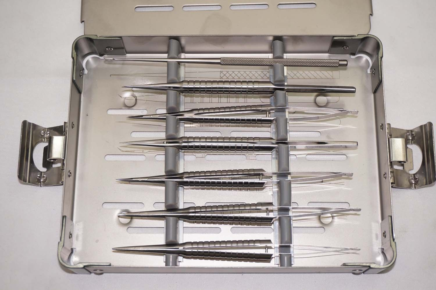 Fine Microsurgery Instruments Kit