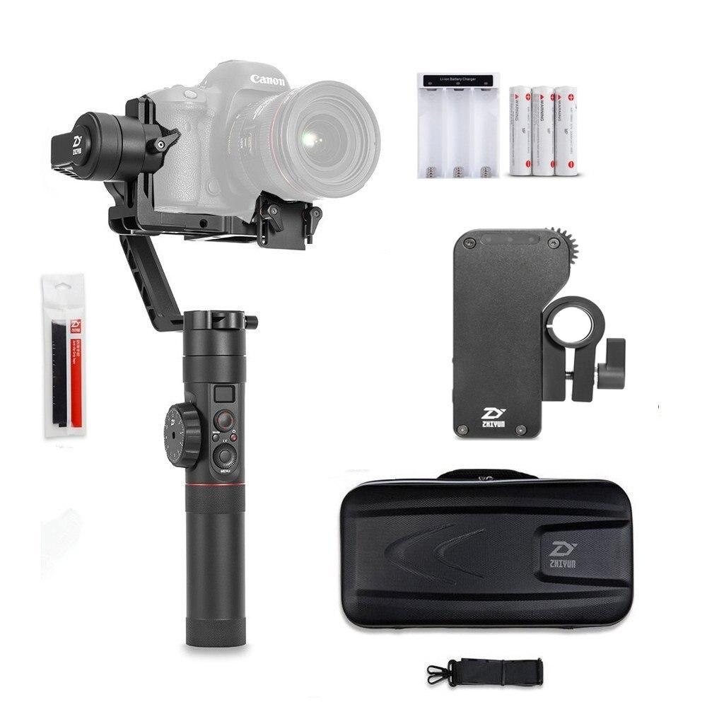 Zhiyun Official Crane 2 3-Axis Handheld Gimbal Stabilizer for DSLR Canon Sony Nikon Panasonic With Free Servo Follow Focus 3d пазл expetro голова снежного барана blue 10634