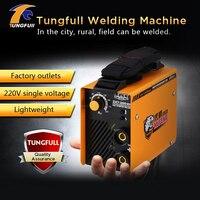 Tungfull arc сварщик Инвертор сварочный аппарат мини миг mma сварочный аппарат дуга Электрический сварочный аппарат для DIY