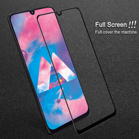 IMAK Tempered Glass for Samsung Galaxy A40 Screen A30 Samsung A50 Glass Full Cover Full Protector for Samsung A40 A30 A20 A50