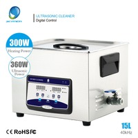 SKYMEN Digital 15L 360W Ultrasonic Cleaner with Degas Heater Timer Bath with Stainless Baskets Ultra Sonic Device