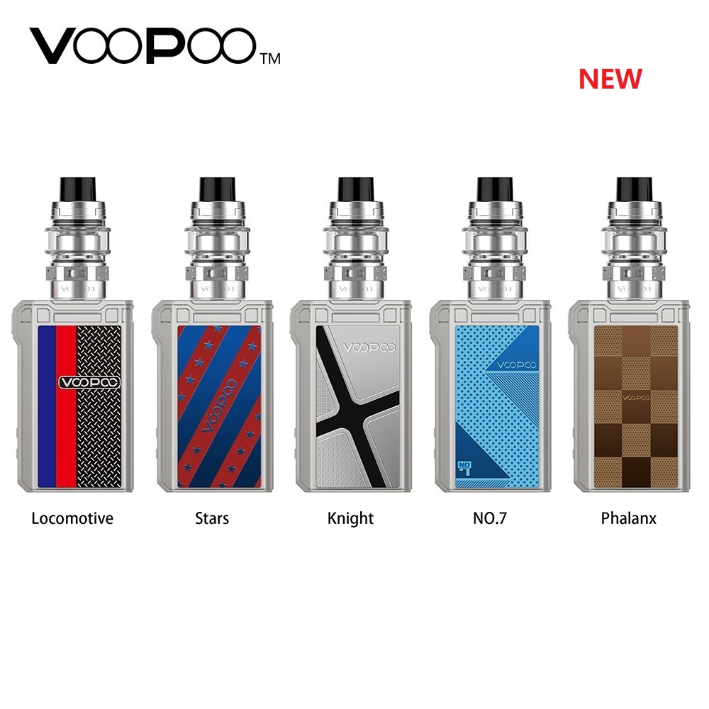 Nouveau Kit Original VOOPOO Alpha Zip Mini 120W TC avec batterie intégrée 4400mAh et réservoir MAAT 4 ml/2 ml e-cig Kit Vape Vs Shogun glisser 2