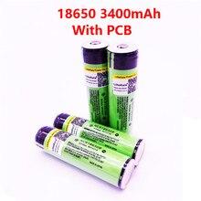 2019 NOVA NCR18650B 4 PCS LiitoKala Original Protegido 100% Original 18650 3400 mAh bateria Recarregável com PCB 3.7 V