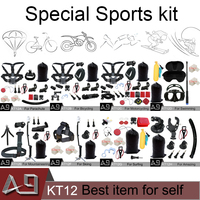 A9 For Gopro Accessories Use For 8 Types Of Sports Mount For Go Pro Hero 6