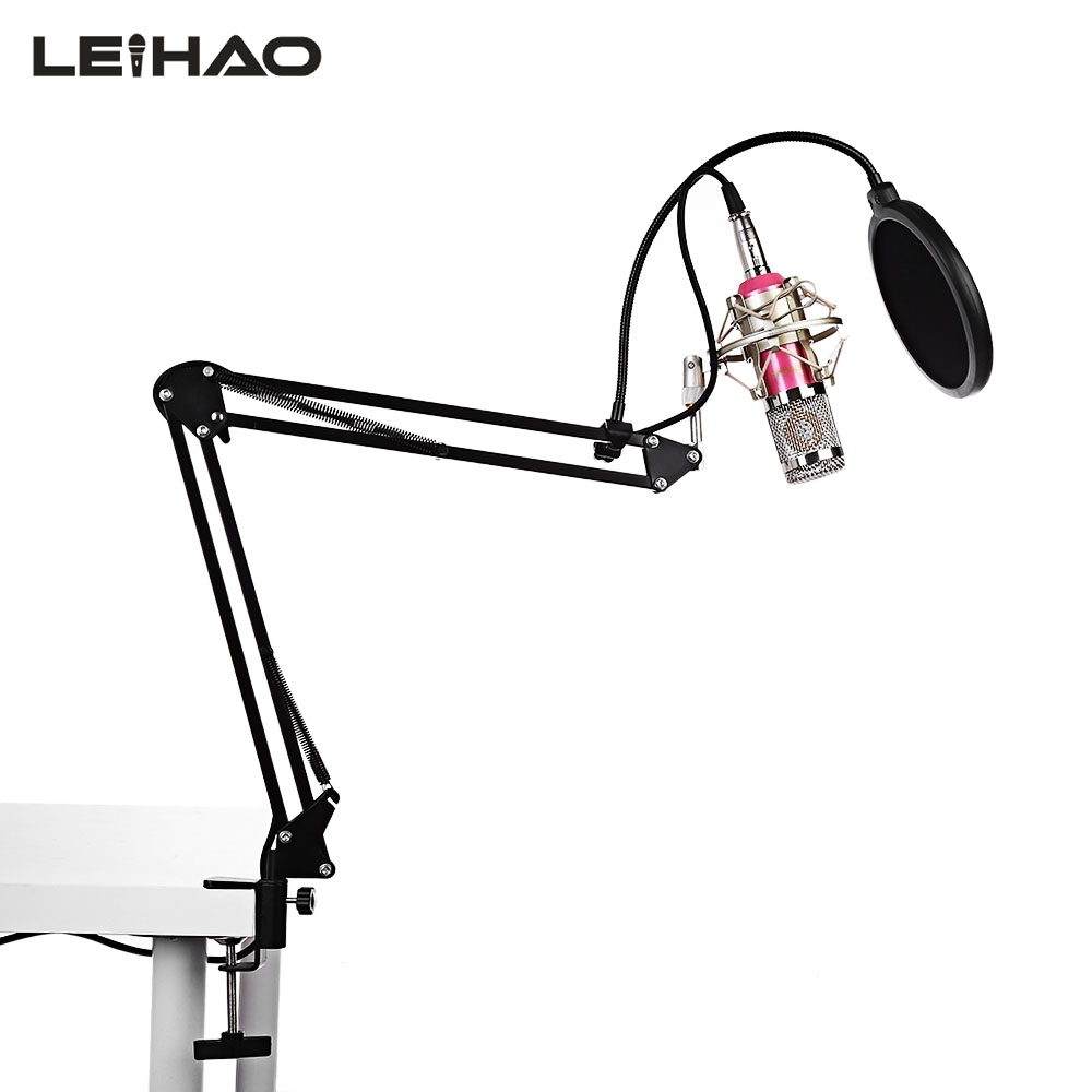 LEIHAO BM - 800 Professional Condenser Microphone Multi-Microphone Kits For Studio Broadcasting Recording bm 800