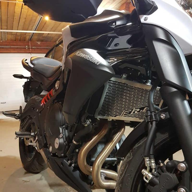 ER6N ER-6N Motorrad Heizkörper Grill Kühlergrill Wache Abdeckungs-schutz Für Kawasaki ER6N ER 6N 2006 2007 2012 2013 2014 2015 2016
