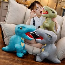 New Dinosaur Plush Toys Hobbies Cartoon Tyrannosaurus Stuffed Toy For Children Simulation Software Birthday Gift