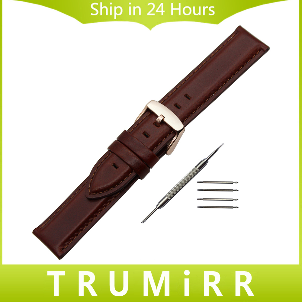 13mm 18mm 20mm Top Layer Genuine Leather Watchband for Seiko Men Women Watch Band Wrist Strap Bracelet Black Brown + Tool + Pins 18mm genuine leather watchband tool for huawei watch women s smartwatch band wrist strap plain grain belt bracelet black brown