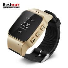 D99 Smartwatch Für Alte Menschen Android Uhr Telefon GPS Tracker Der Eged Digital-uhr SOS Tragbare Geräte Sim-karte Smart Gesundheit