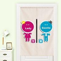 Giappone cotone di stile Giapponese porta tenda di finestra della decorazione appesa sala di riposo bagno servizi igienici