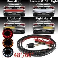48 60 Inch 12V Flexible LED Strip Light Car Tailgate Light Bar Pickup Trailer Taillight Turn