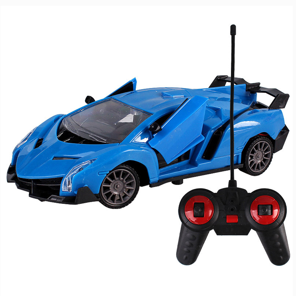 Image 3 - Upgrade version Super Racing Car door open Rc Speed Radio Remote Control Sports Car 1:24 Motor Xmas Gift Kid toy-in RC Cars from Toys & Hobbies
