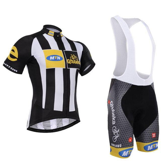 2015 MTN Qhubeka Short Sleeve Cycling Jersey (BIB) Shorts Bicycle cloths  maillot ciclismo Bicicleta cycling clothing 0a6406227