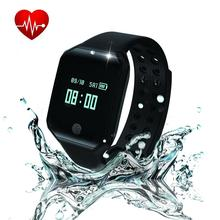 Heart Rate Fitness Tracker, Pedometer Activity Sleep Monitor Watch, Waterproof Bluetooth Smart Bracelet