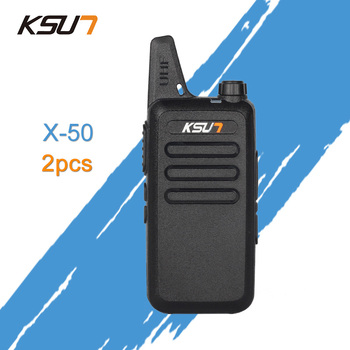 (2 PCS)KSUN X-63TFSI Ham Two Way Radio Walkie Talkie Dual-Band Transceiver BUXUN X-63(Black)