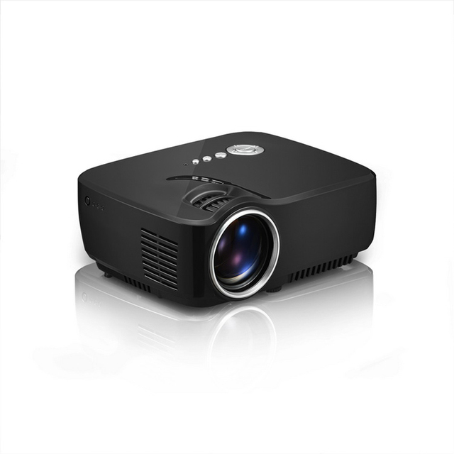 Full HD Mini Portable Projector GP70 Home Theater LED TV Video Game Beamer 1200 Lumens SD HDMI USB Port 1080P LCD Projectors