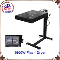 SPE4040 Dryer Screen Printing Equipment 1600W Flash Dryer