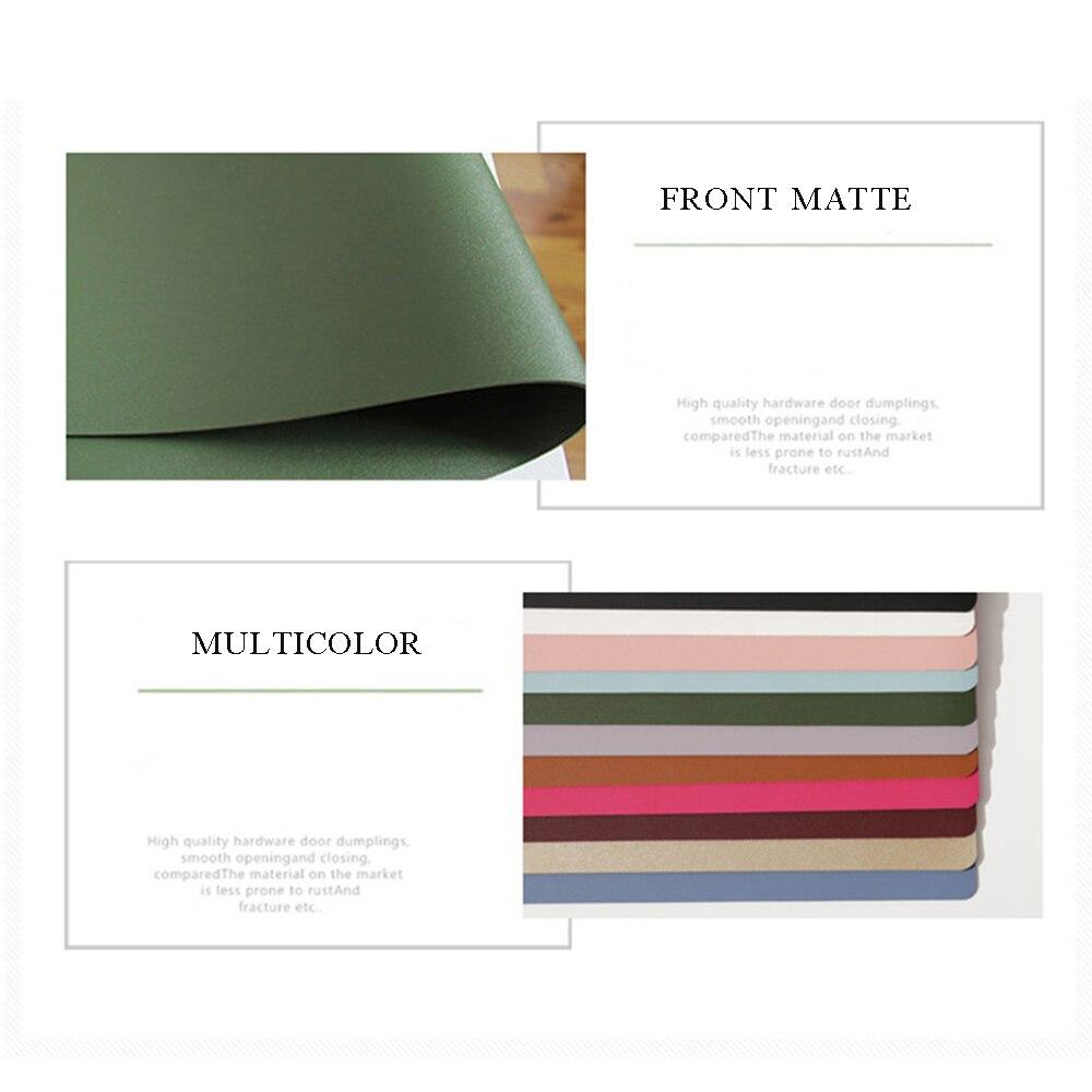 900*450mm bureau tapis de souris imperméable à l'eau ordinateur portable en cuir synthétique polyuréthane clavier tapis de souris bureau maison grande taille Table Pad pour Macbook ASUS Dell - 5