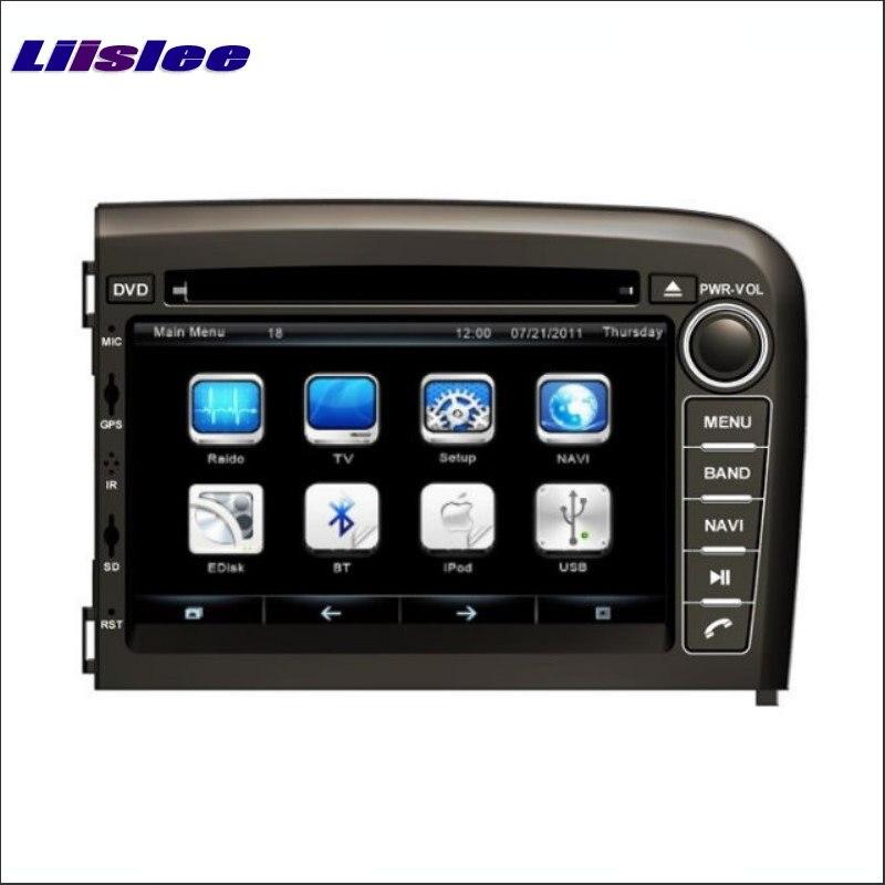 Liislee For Volvo S80 1998 2006 Car DVD Player GPS Map Navi Nav Navigation Touch Screen