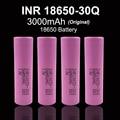 6 ps 2016 100% original a estrenar para samsung inr18650 30q inr18650 batería 3000 mah batería de litio recargable con batería