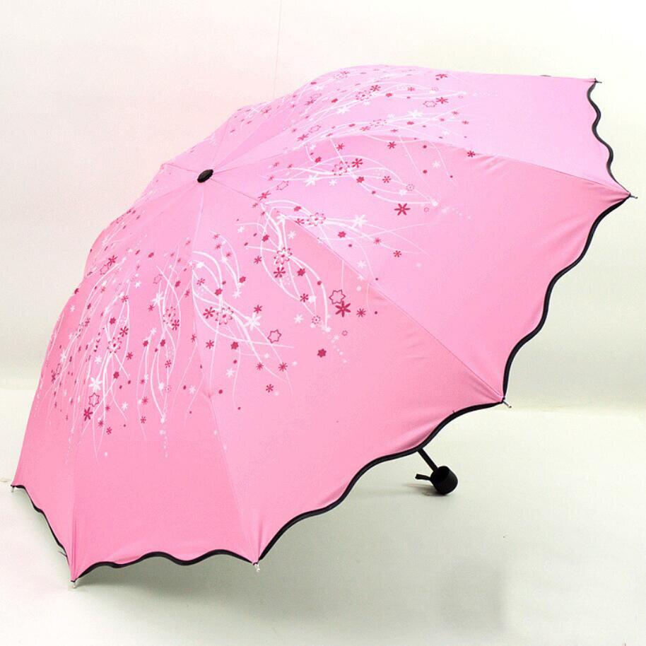 Высокое качество ветрозащитный большой зонтик Красивые метеоритный дождь цветок зонтики раза волны края Для женщин ombrelli для 2 человек SP022