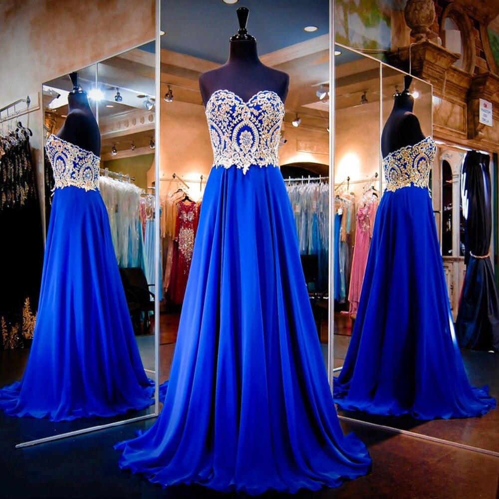royal blue prom dresses - 787×800