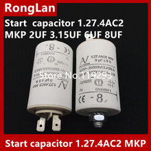 цены [BELLA] [New Original] ARCOTRONICS Motor inverter start  capacitor 1.27.4AC2 MKP 2UF 3.15UF 6UF 8UF
