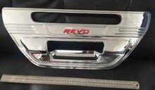 ABS chromed rear door bowl trim for 2015 Toyota HILUX REVO VIGO