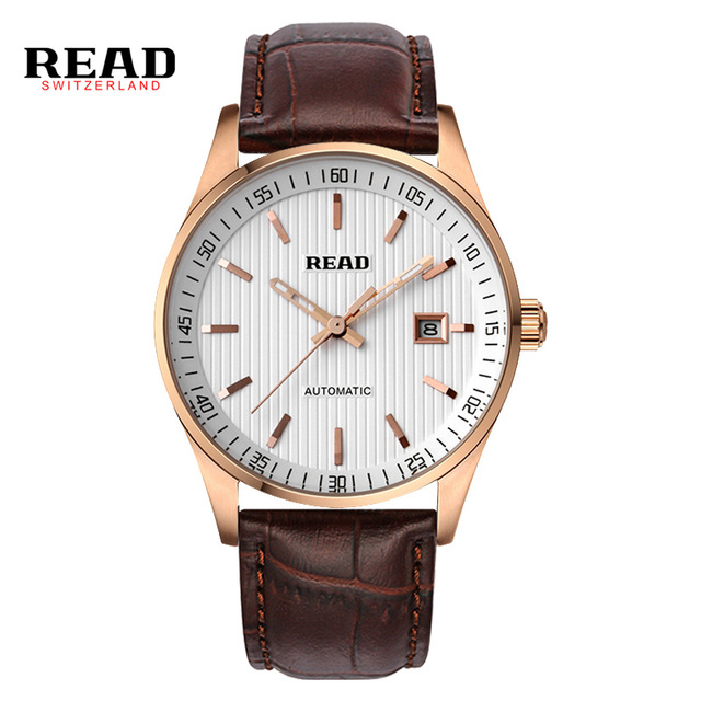 READ Men's business automatic mechanical watch 8009 cd 8009