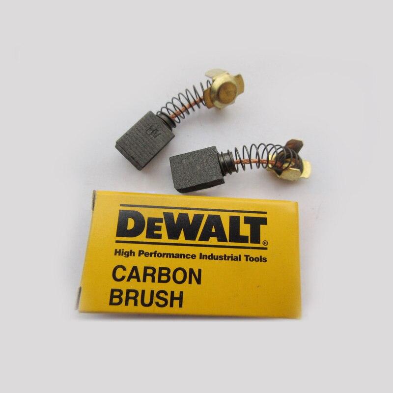 1 Pair Original Carbon Brushes For Dewalt DWP849X Electric Motors, Power Tool Accessories,High-quality!