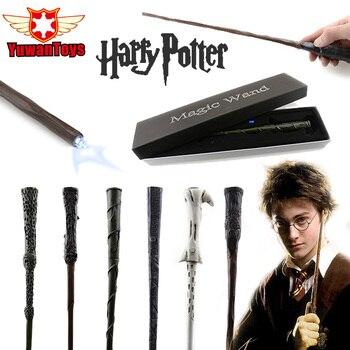 Новые оригинальные Гарри Поттера палочка светодиодный свет Волшебная палочка поставляется с запасной Батарея в Best Косплэй реквизит можете...