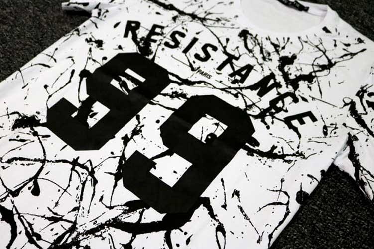 2018 Mode Eté Hommes T-shirt Coton Décontracté T-Shirt DJ Hip Hop - Vêtements pour hommes - Photo 5