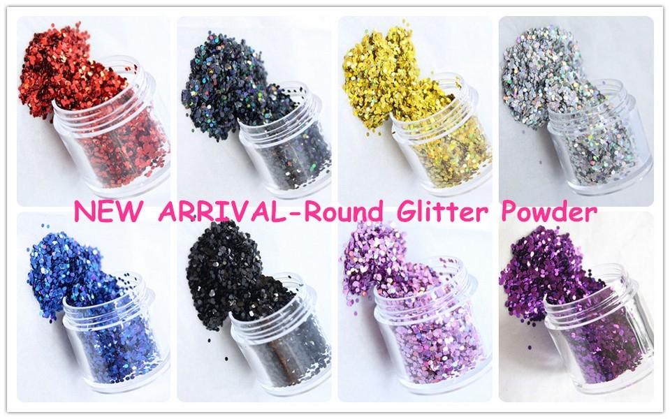 round glitter